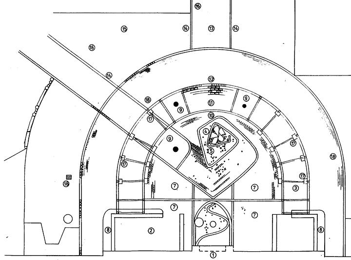 Detailplanung Pergola, Brunnen, Eingangsbereich