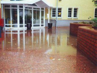 Situation Überflutung